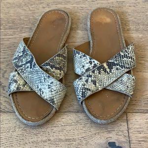 Anthropologie Shoes - Anthropology, Kaanas - 'Guajira' Slide, size 9
